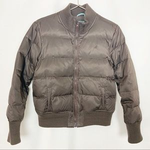 Old Navy Brown Puffer Jacket